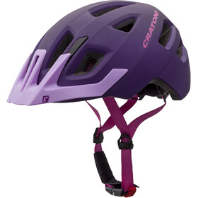Cratoni Maxster Pro Helmet Kids purple-pink matt